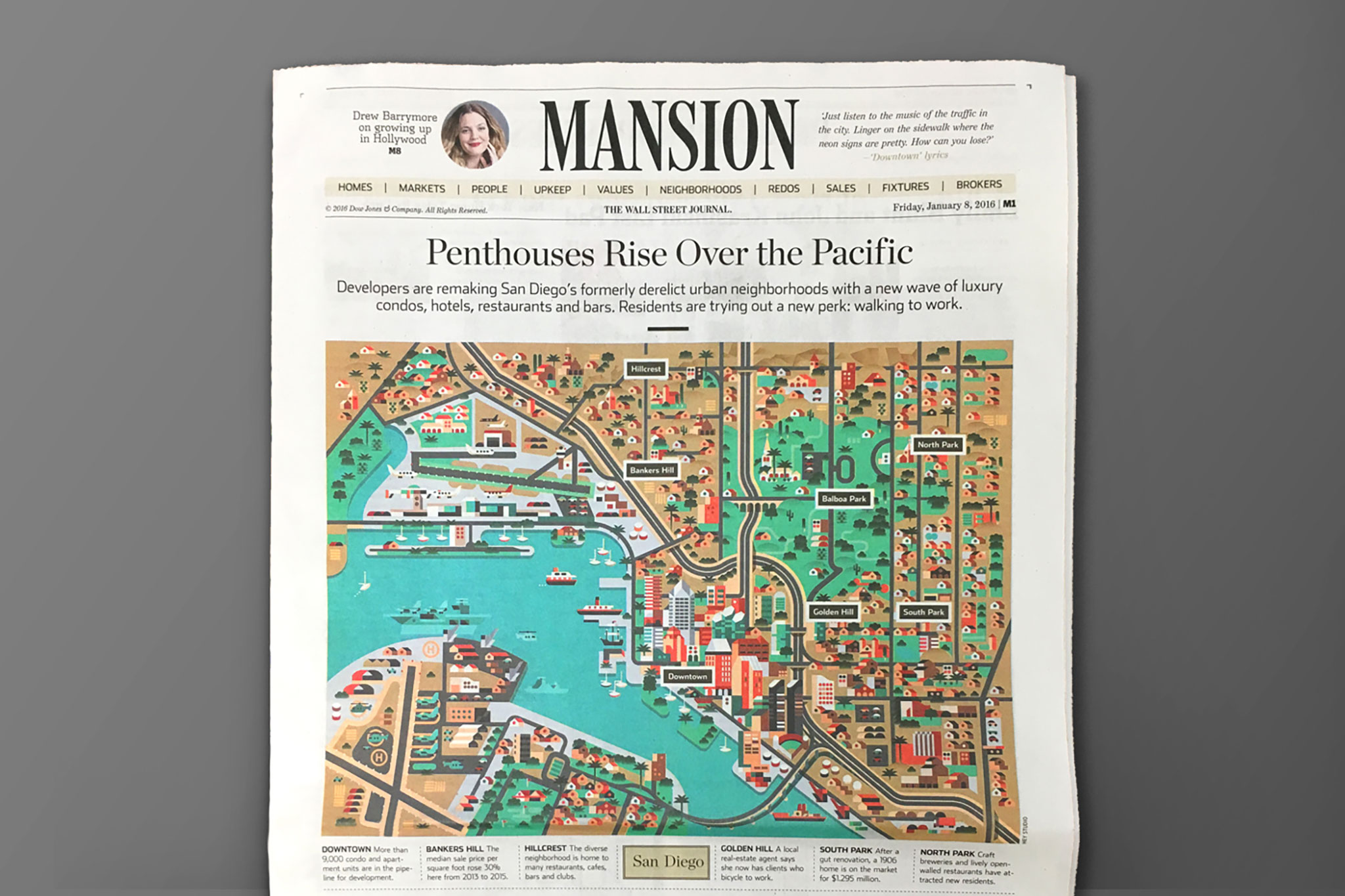 Mansion's maps - Hey on